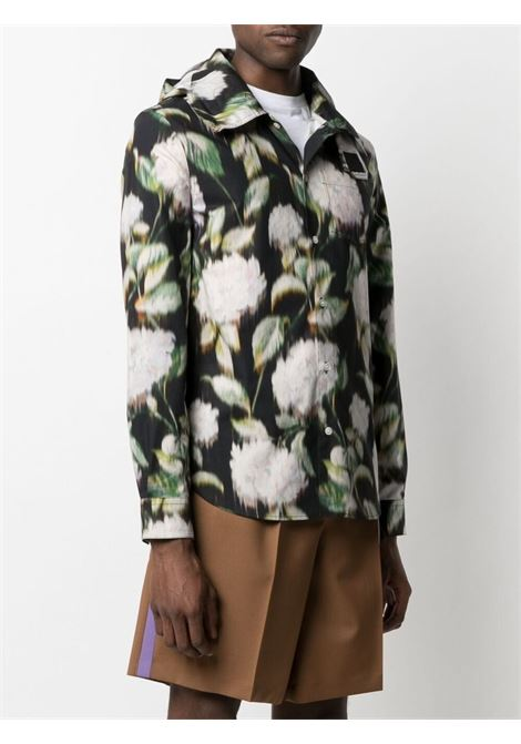 Kenzo floral shirt men noir KENZO | FB55MCH539P299