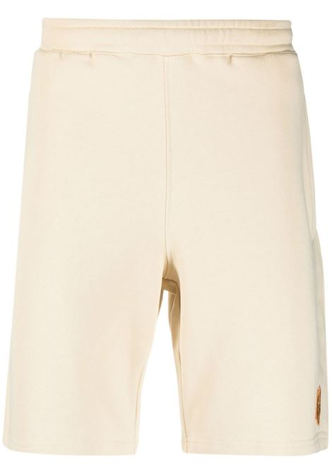 Kenzo pantaloncini sportivi con logo uomo sable KENZO | Bermuda | FB55PA7274ML08
