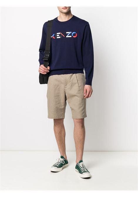 Logo sweatshirt KENZO | FB55PU5413LA76