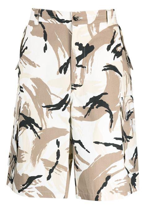 Kenzo bermuda camouflage uomo blanc casse KENZO | Bermuda | FB55SH2341PC02