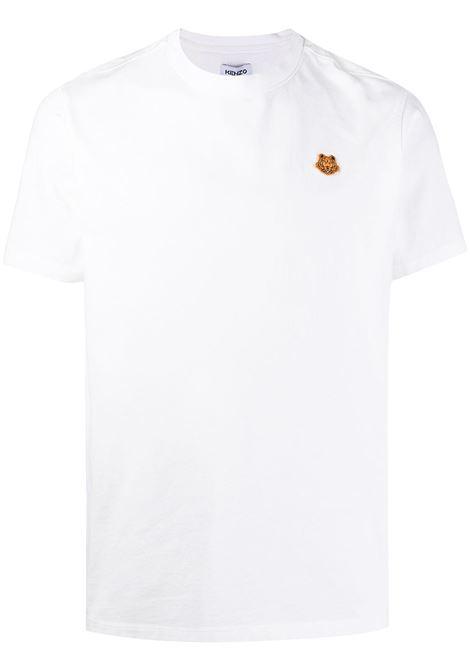 Kenzo t-shirt tiger uomo blanc KENZO | T-shirt | FB55TS0034SA01B
