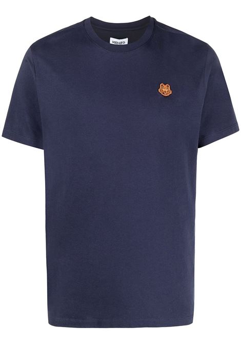 Kenzo t-shirt tiger uomo bleu marine KENZO | T-shirt | FB55TS0034SA76