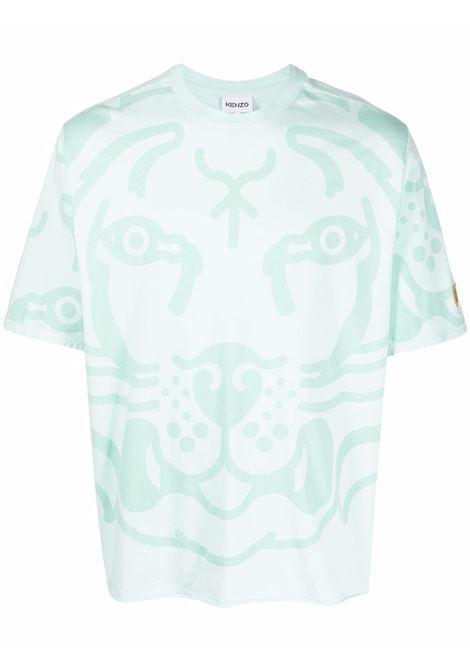 T-shirt k-tiger uomo menthe KENZO   T-shirt   FB55TS5104SG58