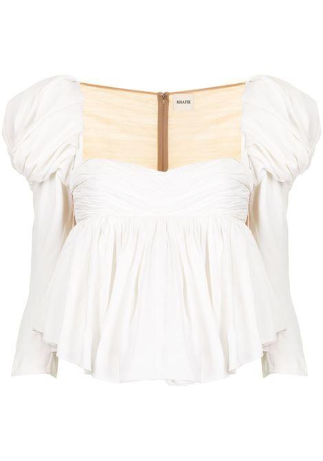 Khaite kim blouse women black Khaite | Blouses | 2162401W401101
