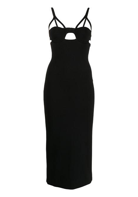 Khaite honour midi dress women black Khaite | Dresses | 8582400K400200