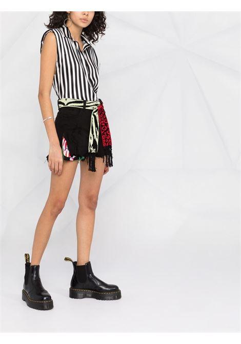 Laneus striped sleeveless shirt women unica LANEUS | 6948U