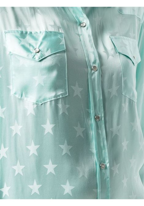 Laneus jacquard star dress women acqua LANEUS | ABD100ACQU