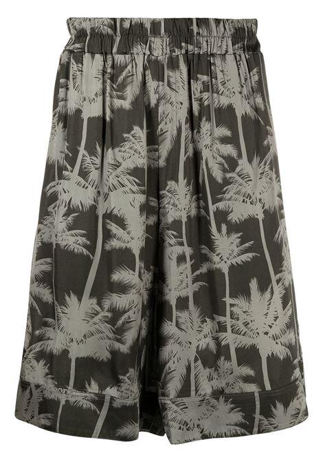 Graphic-print Bermuda LANEUS | Bermuda Shorts | BRU6517VAR2
