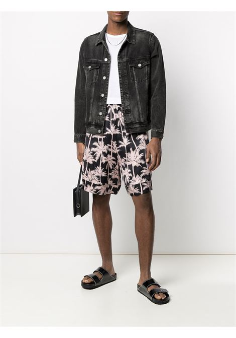 Graphic-print shorts LANEUS | BRU6517VAR4