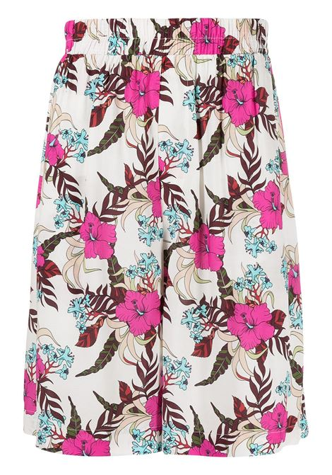 Floral bermuda LANEUS | Bermuda Shorts | BRU6600VAR1
