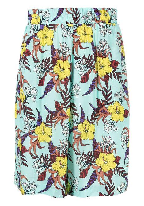 Floral bermuda LANEUS | Bermuda Shorts | BRU6600VAR2