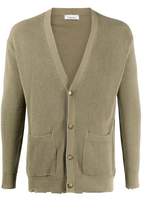Rib-trimmed cardigan LANEUS | Sweaters | CDU1401MLTY
