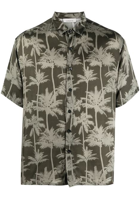 Palm tree shirt LANEUS | Shirts | CMU6521VAR2