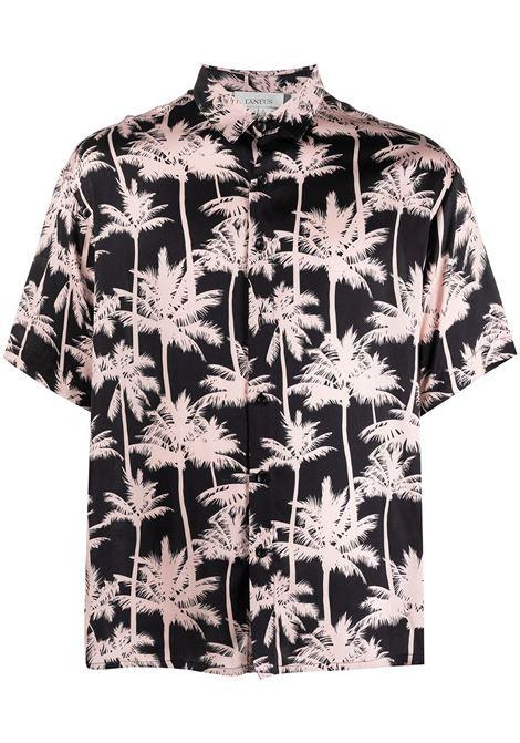 Palm tree shirt LANEUS | Shirts | CMU6521VAR4