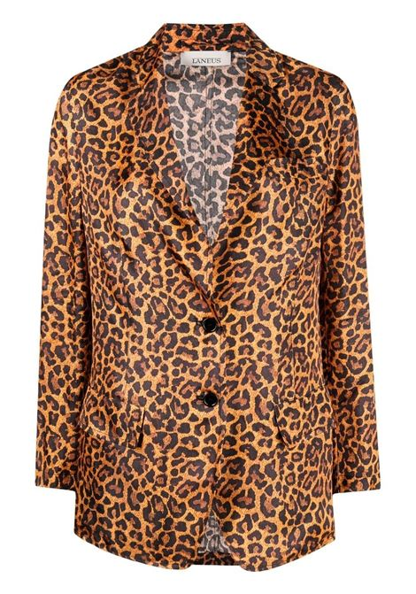 Laneus single-breasted blazer women arancio LANEUS | Blazers | GCD008VAR1