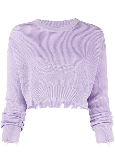 Laneus cropped jumper women malva LANEUS | Sweaters | MGD1446M1139