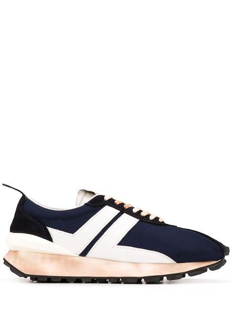 Lanvin sneakers a pannelli bumper uomo navy blue white LANVIN | Sneakers | FMSKBRUNDRAG2900