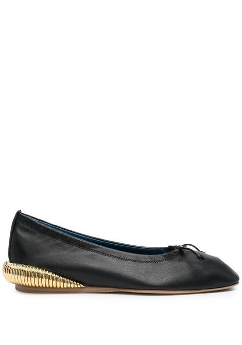 BumpR ballerina shoes LANVIN | Ballerina shoes | FWBAOB01NAPA10