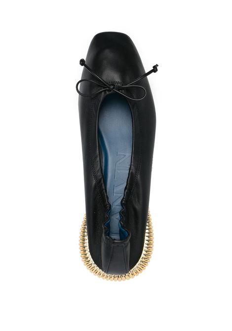 BumpR ballerina shoes LANVIN | FWBAOB01NAPA10