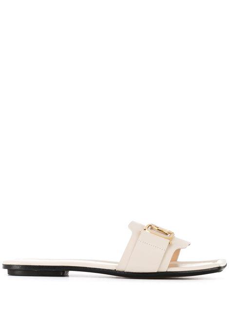 Square toe sandals LANVIN | Slides | FWSAPS0JNAGO00