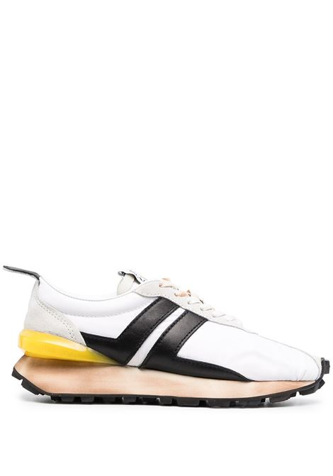 Lanvin sneakers a pannelli bumper donna white black LANVIN | Sneakers | FWSKBRUNNYL10010