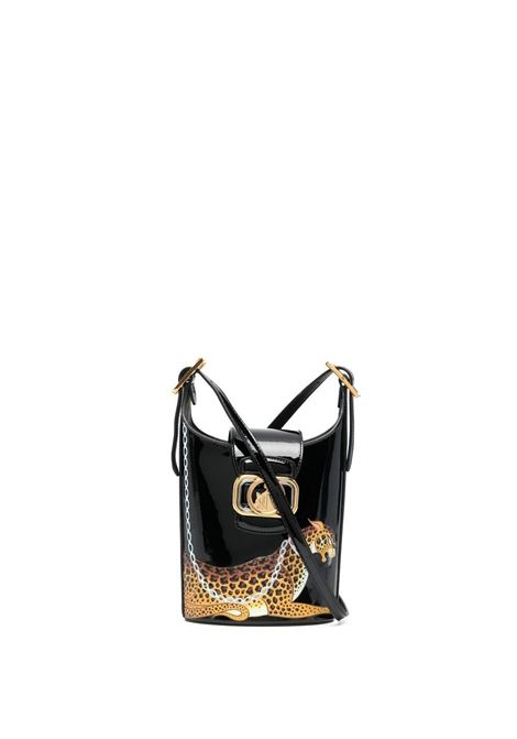 Lanvin Swan bucket bag women black LANVIN | Crossbody bags | LWBGWQ01VELE10