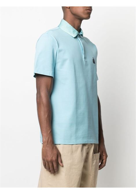 Embroidered-motif polo shirt LANVIN | RMPL0002J03022