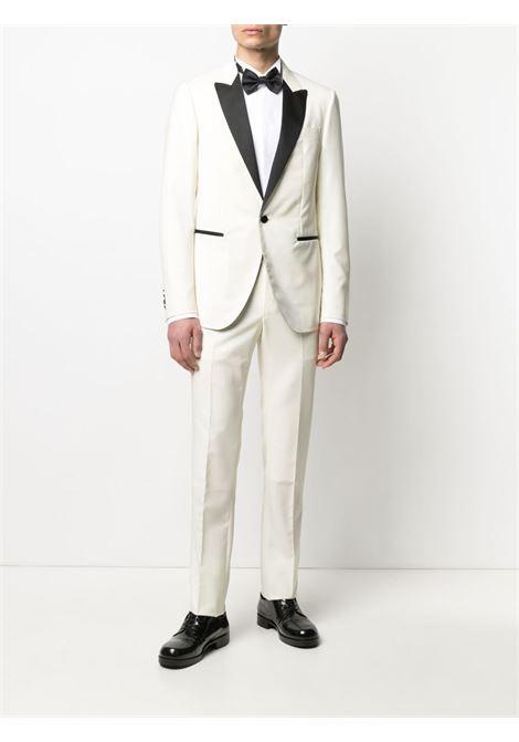 Lanvin two-piece dinner suit men ecru LANVIN | RMSU0029N09502