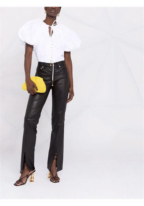 Puff-sleeve blouse women white LANVIN | RWTO0010440800