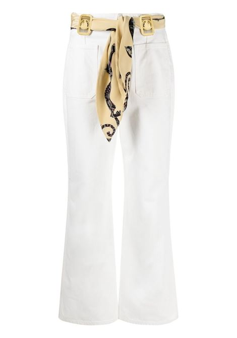 Jeans svasati donna optic white LANVIN | Jeans | RWTR0023D00101
