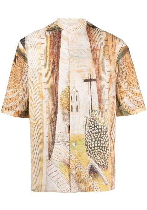 Camicia con stampa Uomo LEMAIRE | Camicie | M211TO129LF556150