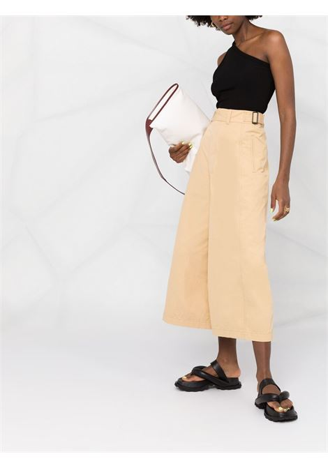 Lemaire wide-leg trousers women seashell begie LEMAIRE | W211PA402LF575208