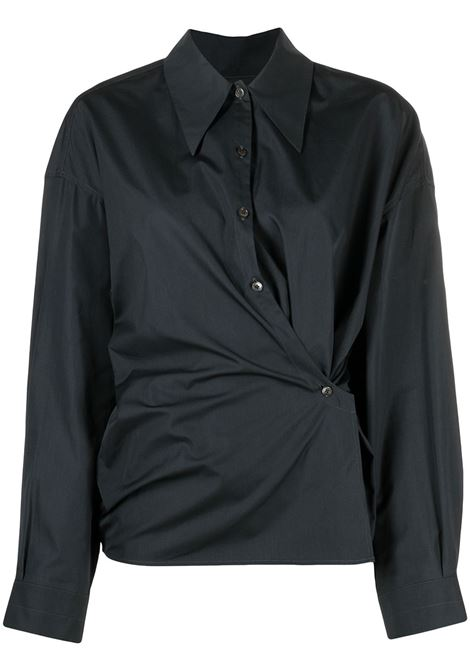 Lemaire camicia donna midnight turquoise LEMAIRE | Camicie | W211SH254LF353694