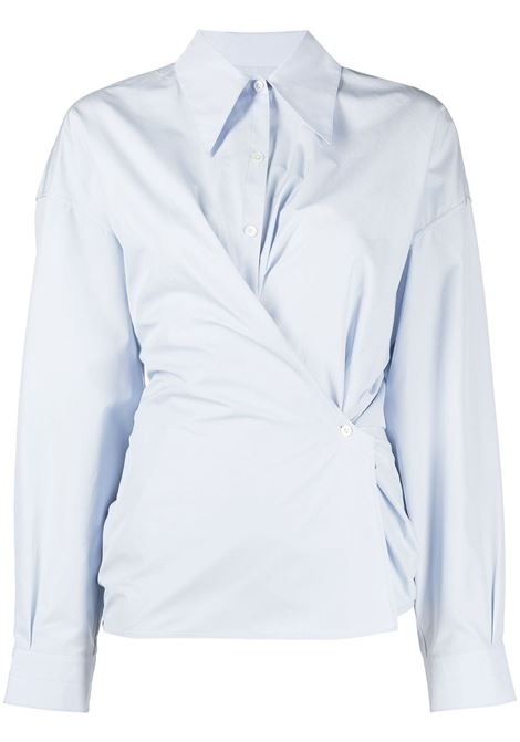 Lemaire camicia twisted donna ice blue LEMAIRE | Camicie | W211SH254LF353707