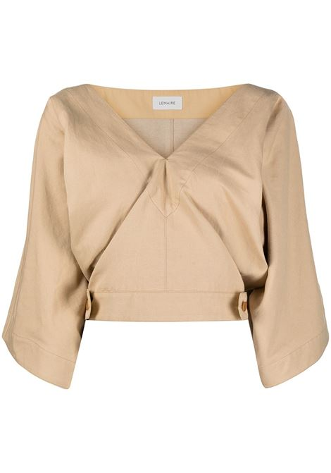 Lemaire top verause donna blond beige LEMAIRE | Top | W211TO296LF546215