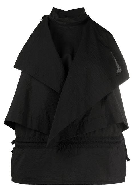 Lemaire blusa smanicata donna black LEMAIRE | Bluse | W211TO404LF580999