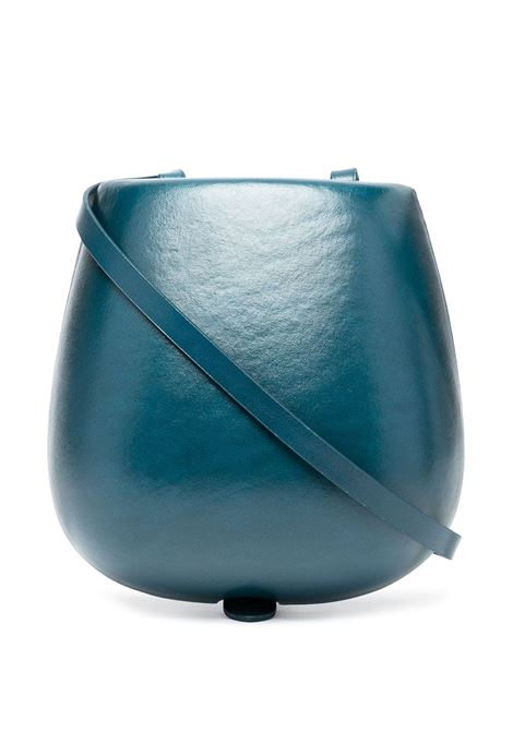Lemaire moulded tacco crossbody bag women prussian blue LEMAIRE | Crossbody bags | X211BG271LL16746