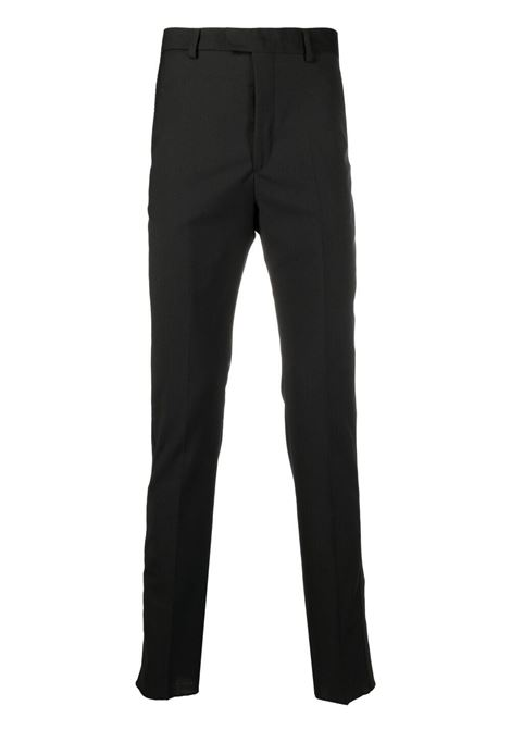 Pantaloni sartoriali a vita alta uomo black LES HOMMES   LKP102307U9000