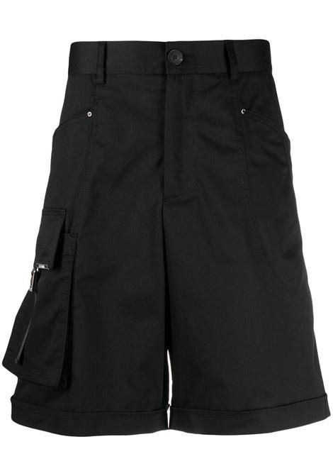 Knee-length bermuda  LES HOMMES | Bermuda Shorts | LKP703364U9000