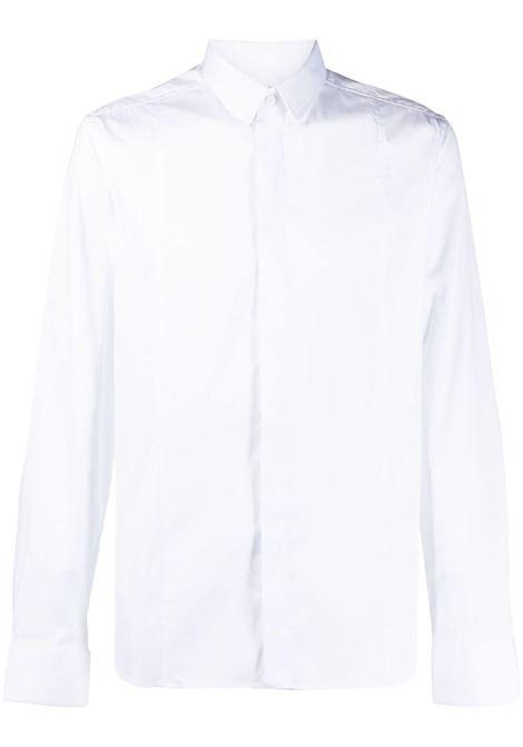 Les homes slim-fit shirt men white LES HOMMES | Shirts | LKS500439U1000