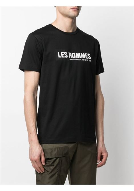 T-shirt con stampa Uomo LES HOMMES   LKT202700P9000