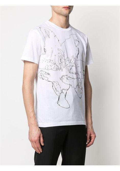 T-shirt a fiori Uomo LES HOMMES   LKT216703P1000