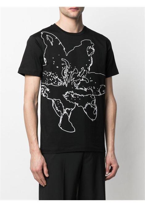 T-shirt a fiori Uomo LES HOMMES   LKT216703P9000