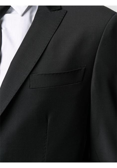 Two-piece single-breasted suit men black LES HOMMES | LKW100312U9000