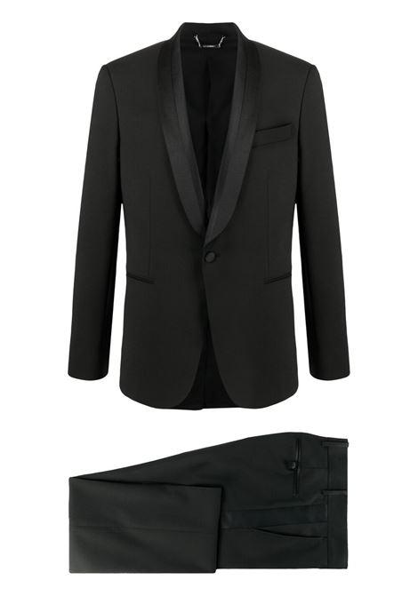 Les homes single-breasted suit men black LES HOMMES | Suits | LKW15307B9000