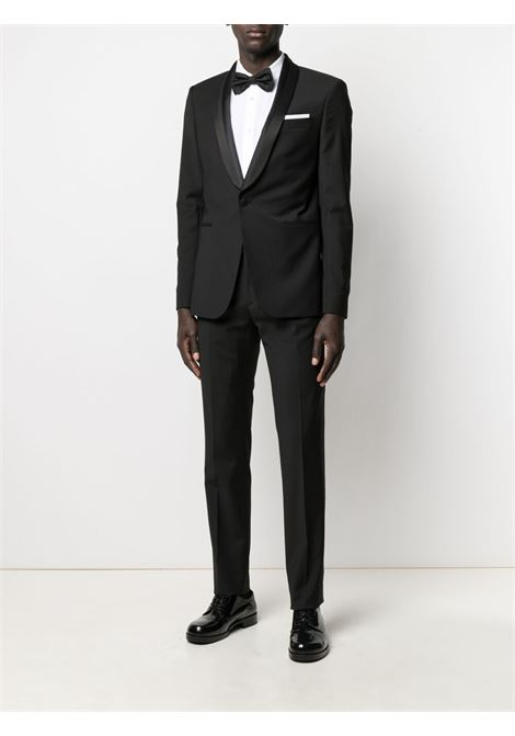 Les homes single-breasted suit men black LES HOMMES | LKW15307B9000