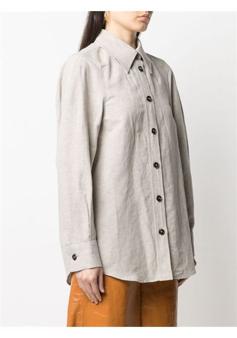 Camicia con bottoni a contrasto Donna LOW CLASSIC | LOW21SSSH09BE