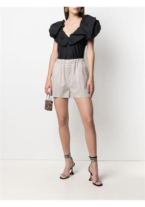 Magda butrym pleated shorts women grey MAGDA BUTRYM   114521GRY