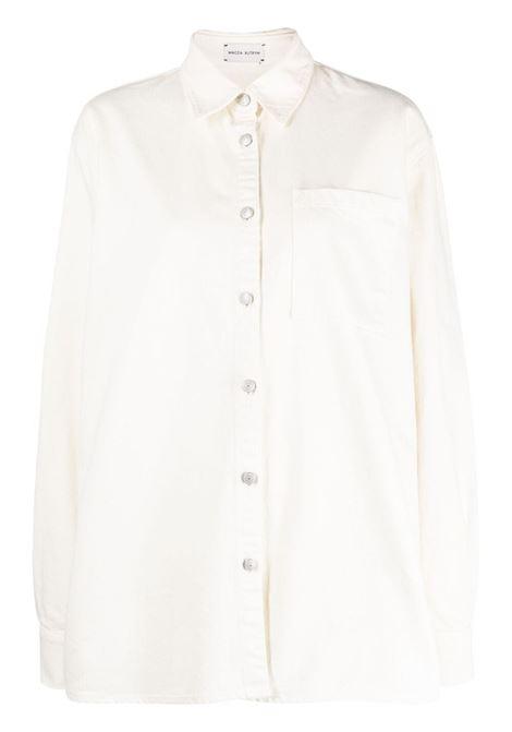 Magda butrym camicia a maniche lunghe donna cream MAGDA BUTRYM | Camicie | 182521CRM