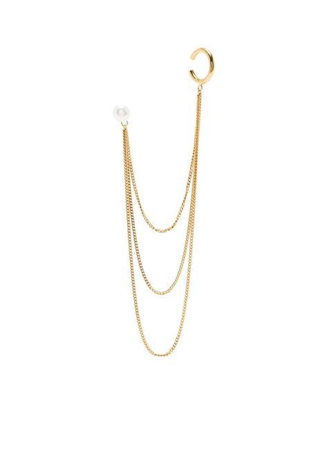 Magda butrym hoop pearl cuff earring women gold MAGDA BUTRYM | Earrings | 913521GLD
